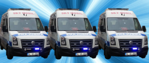 SKY Slider - Ambulans X 3